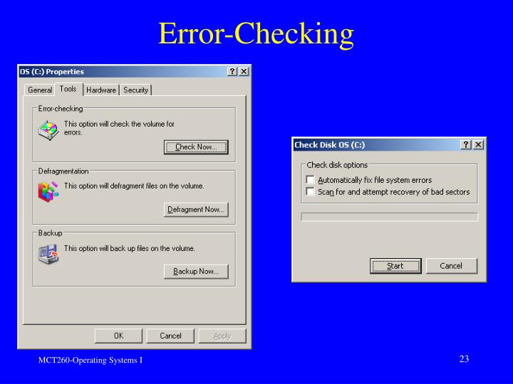 Error-Checking