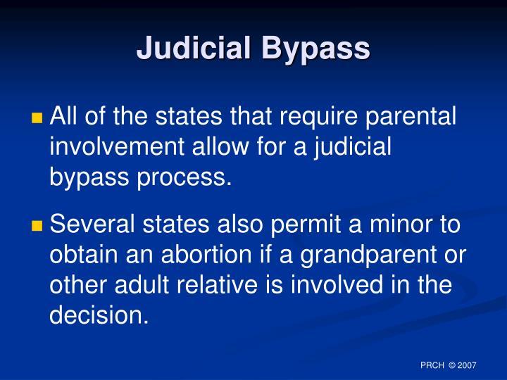 Judicial Bypass