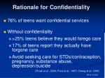 rationale for confidentiality2