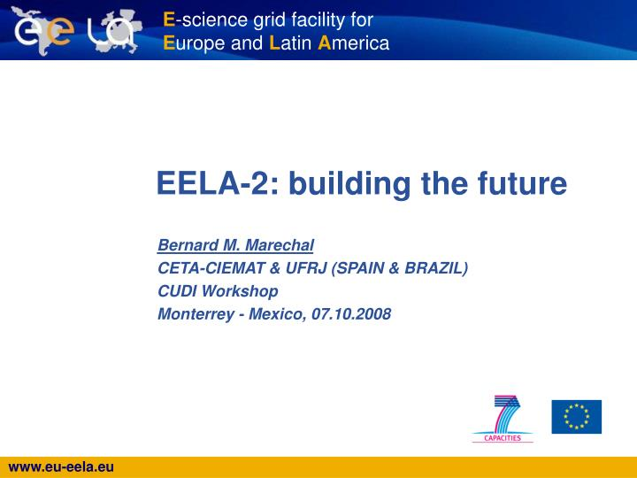 Eela 2 building the future
