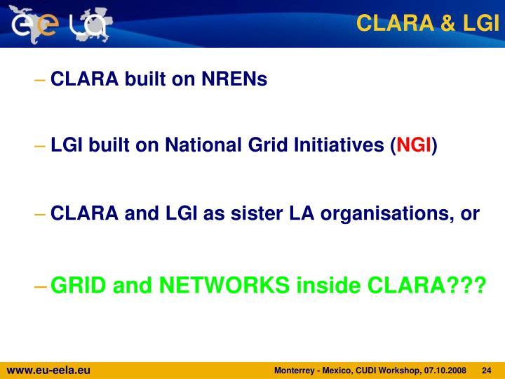 CLARA & LGI