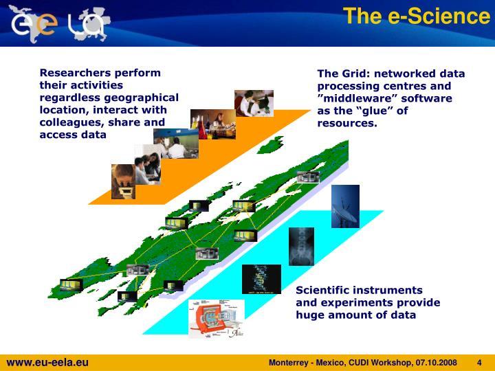 The e-Science