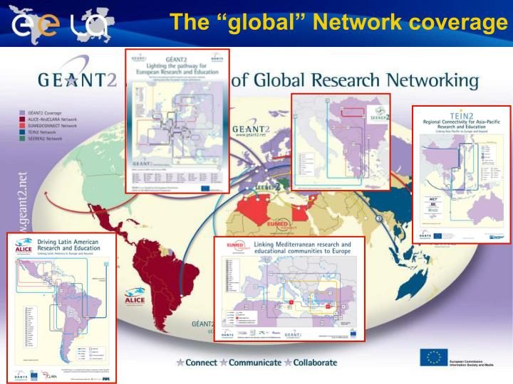 "The ""global"" Network coverage"