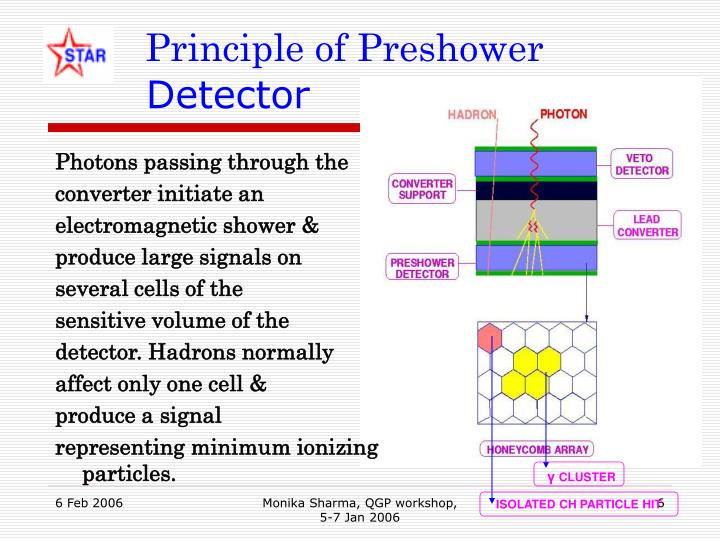 Principle of Preshower