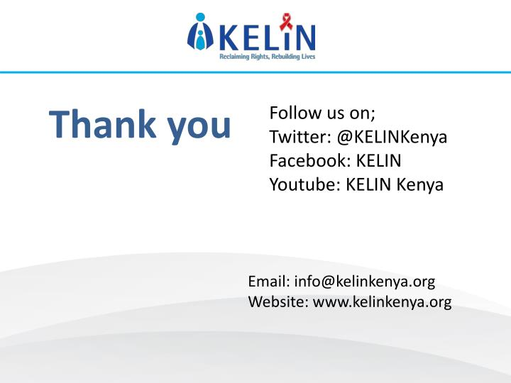 Follow us on;
