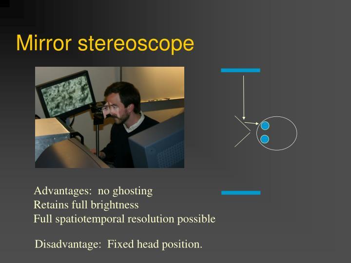 Mirror stereoscope