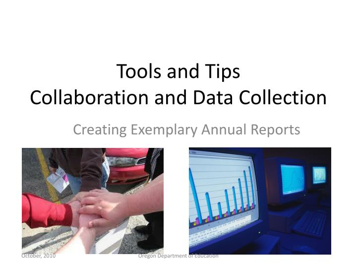 tools and tips collaboration and data collection