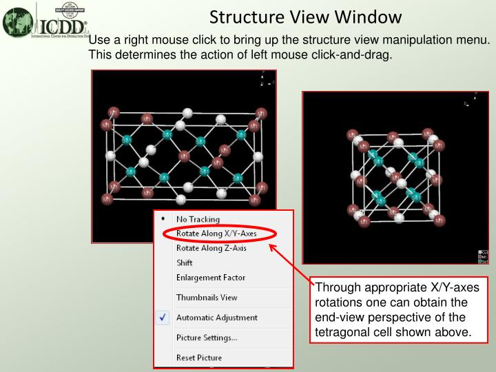 Structure View Window