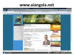 www aiangola net
