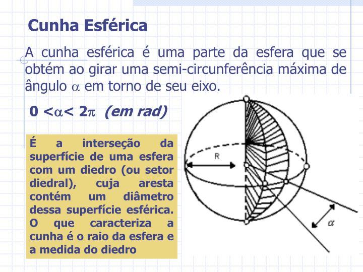 Cunha Esférica