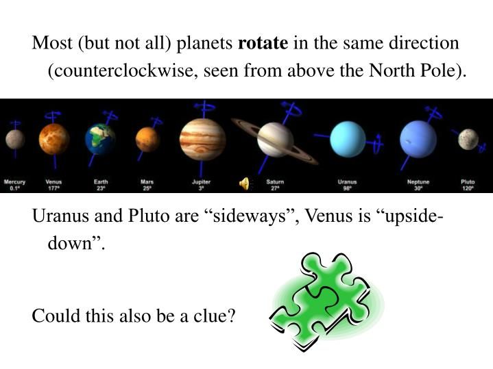 Most (but not all) planets
