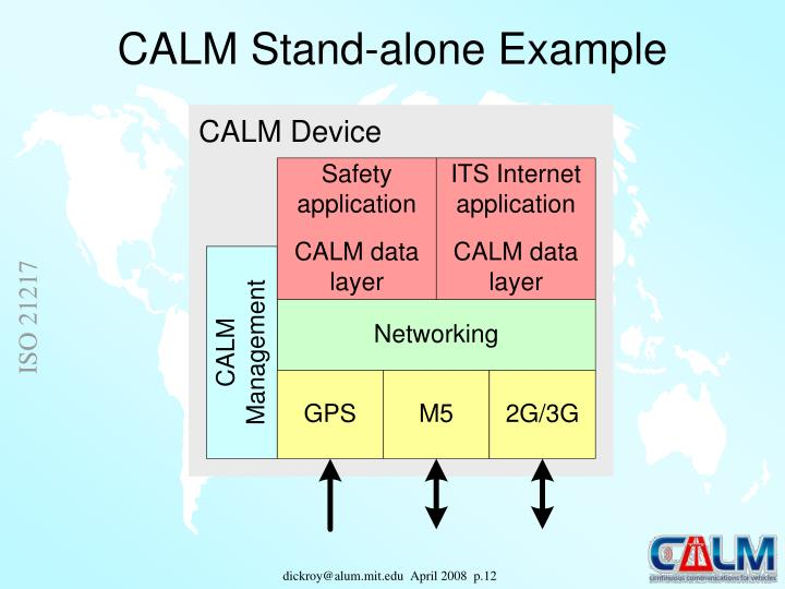 CALM Stand-alone Example