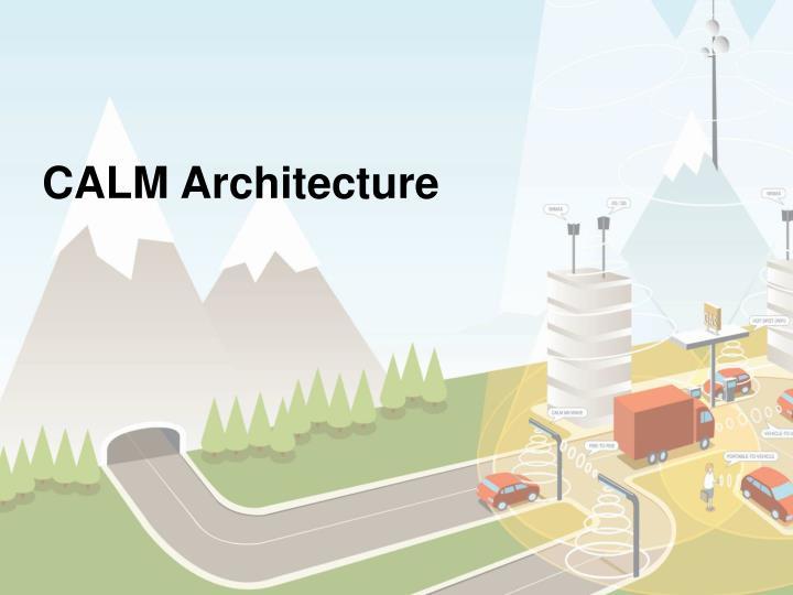 CALM Architecture