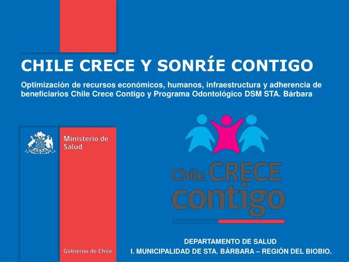 CHILE CRECE Y SONRÍE CONTIGO