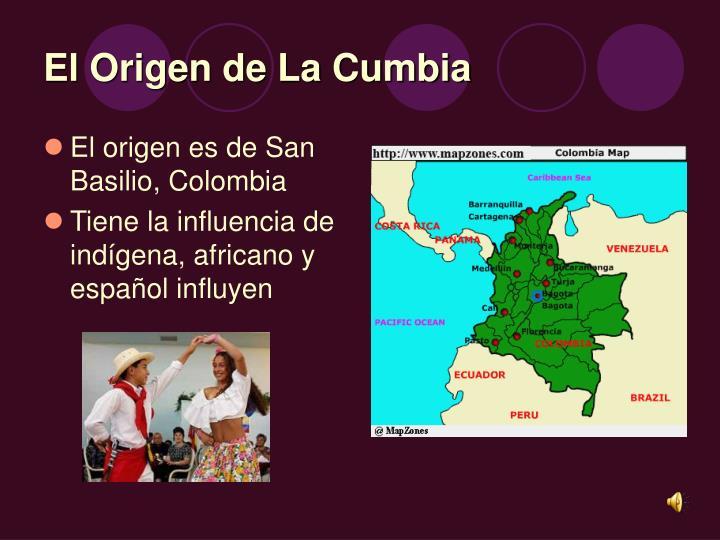 El Origen de La Cumbia