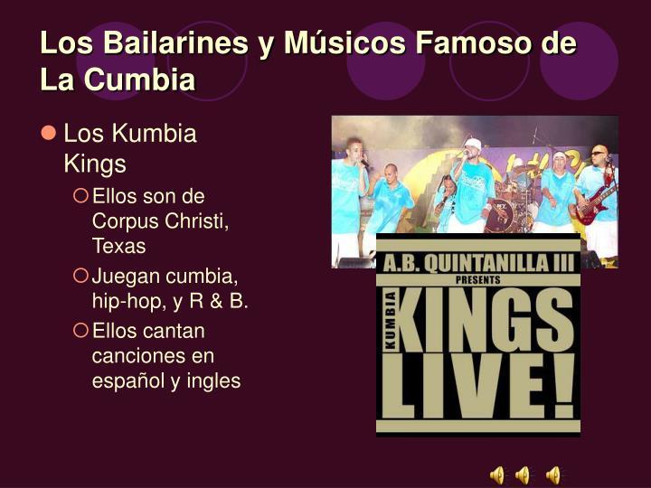 Los Bailarines y Músicos Famoso de La Cumbia