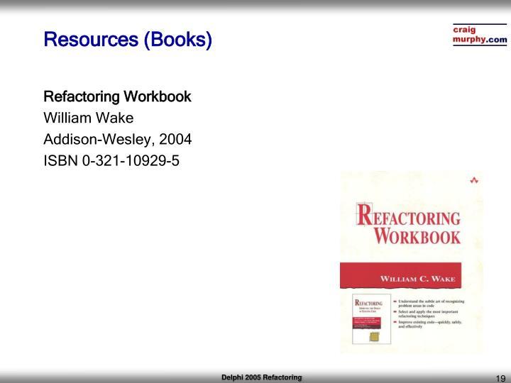 Resources (Books)