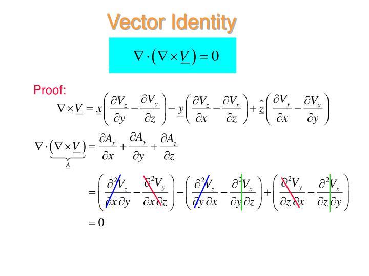 Vector Identity