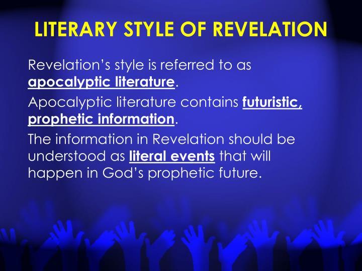 LITERARY STYLE OF REVELATION