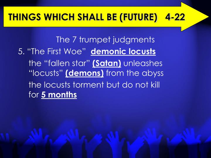 THINGS WHICH SHALL BE (FUTURE)   4-22