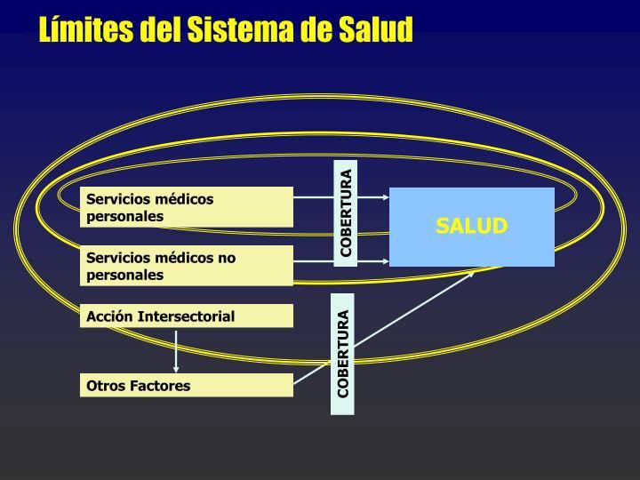 Límites del Sistema de Salud
