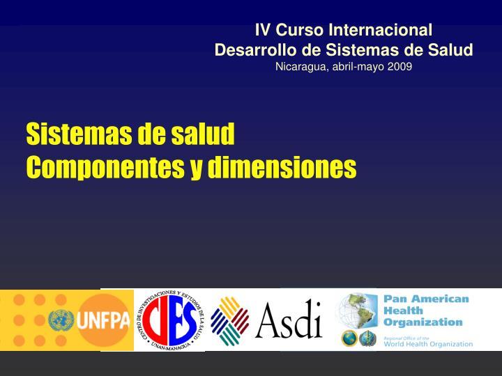 IV Curso Internacional