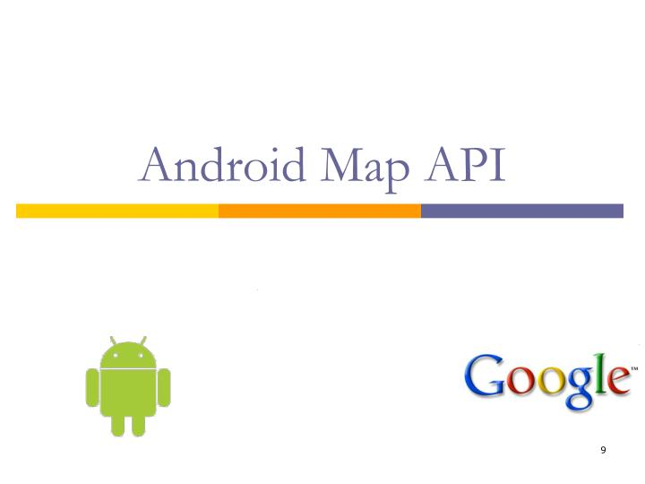 Android Map API