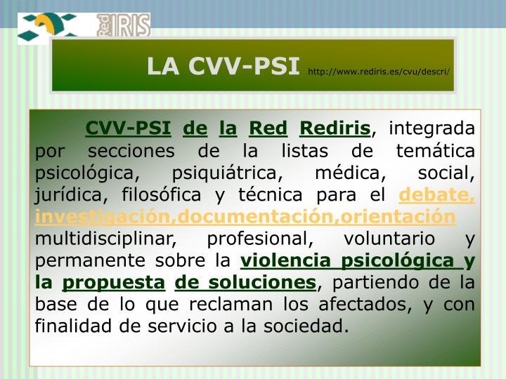 LA CVV-PSI