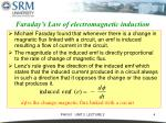 faraday s law of electromagnetic induction