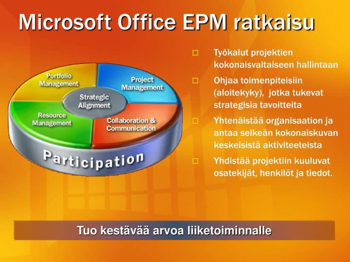 Microsoft Office EPM ratkaisu