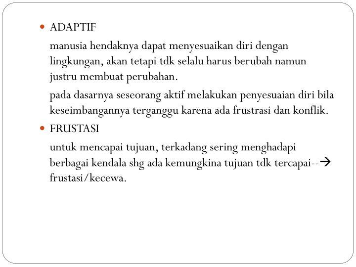 ADAPTIF