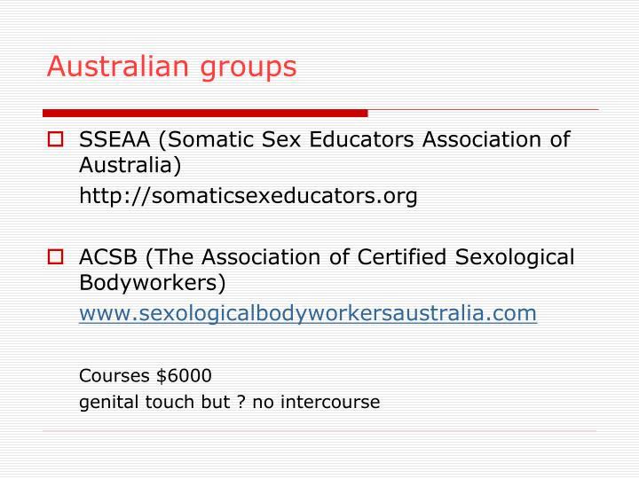 Australian groups