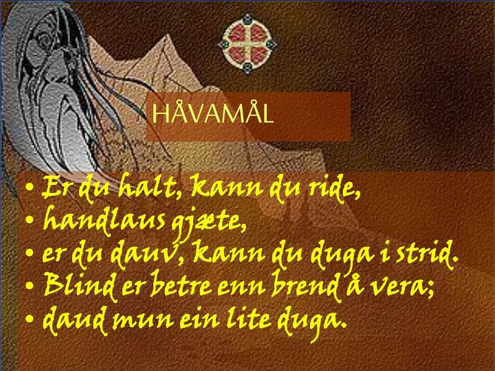 HÅVAMÅL
