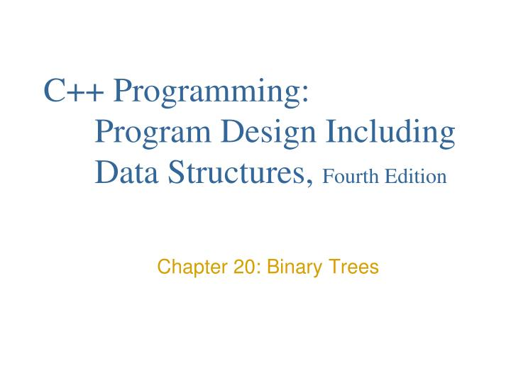 C programming program design including data structures fourth edition