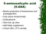 5 aminosalicylic acid 5 asa