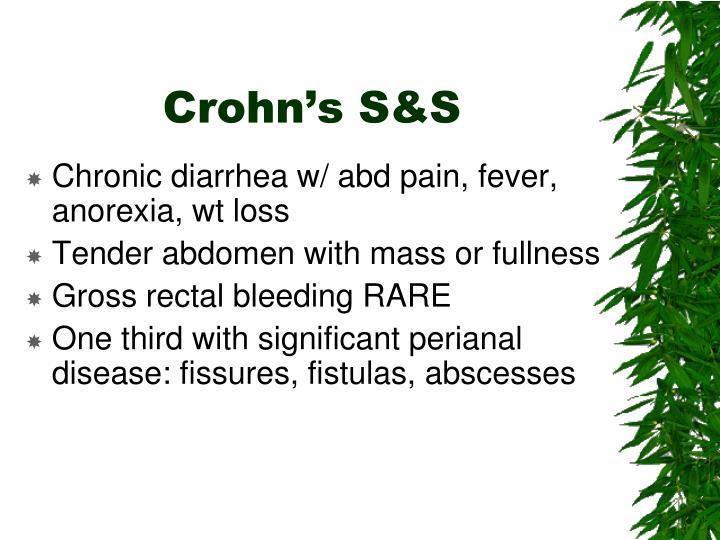 Crohn's S&S