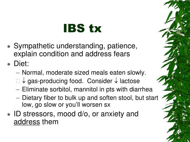 IBS tx