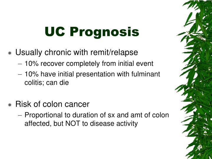 UC Prognosis
