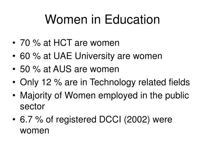 Women in Education