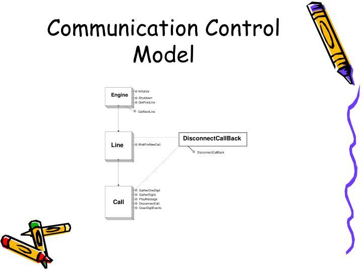 Communication Control Model