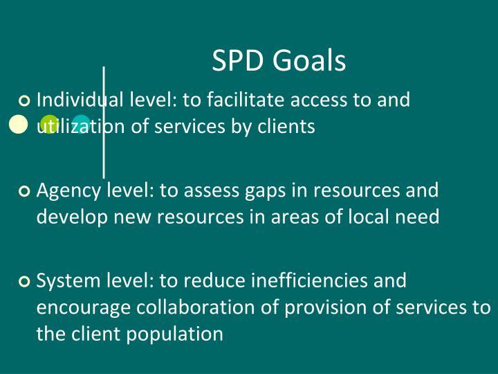SPD Goals