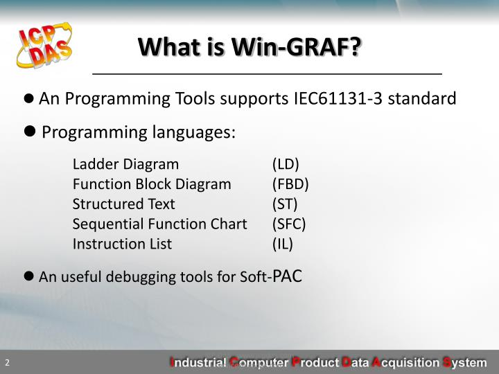 What is Win-GRAF?