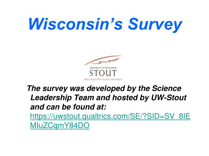 Wisconsin's Survey