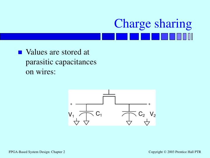 Charge sharing