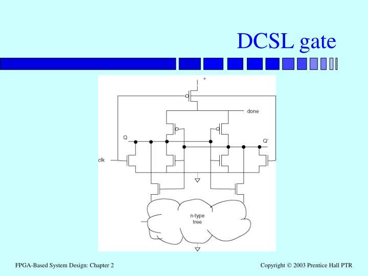 DCSL gate