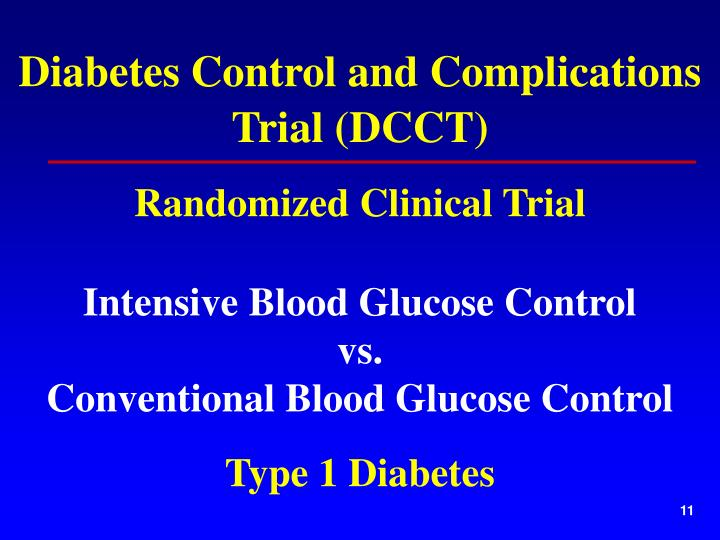 Diabetes Control and Complications