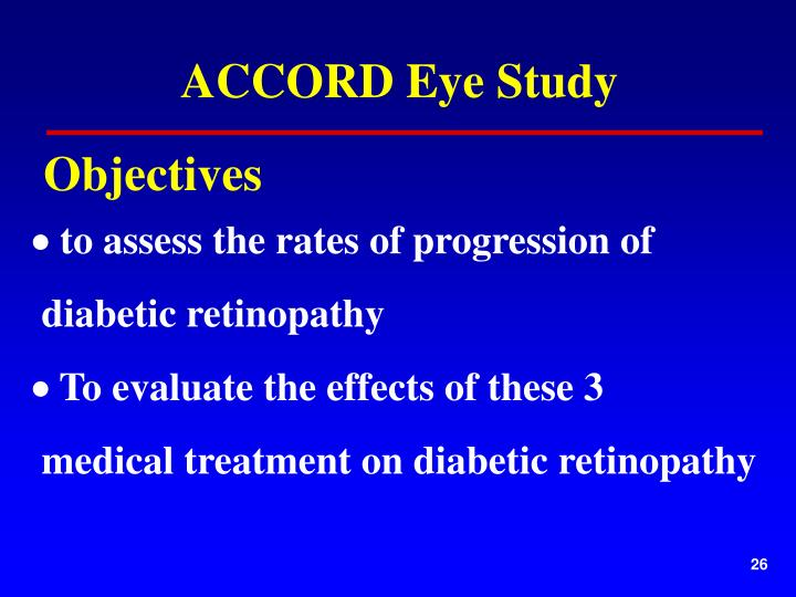 ACCORD Eye Study