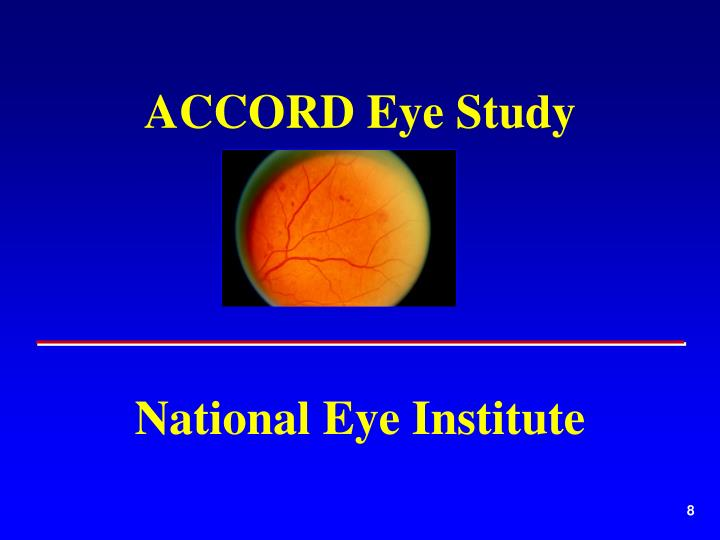 ACCORD Eye Study