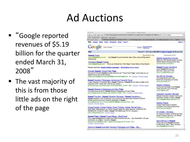 Ad Auctions
