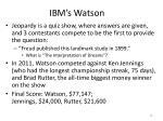 ibm s watson